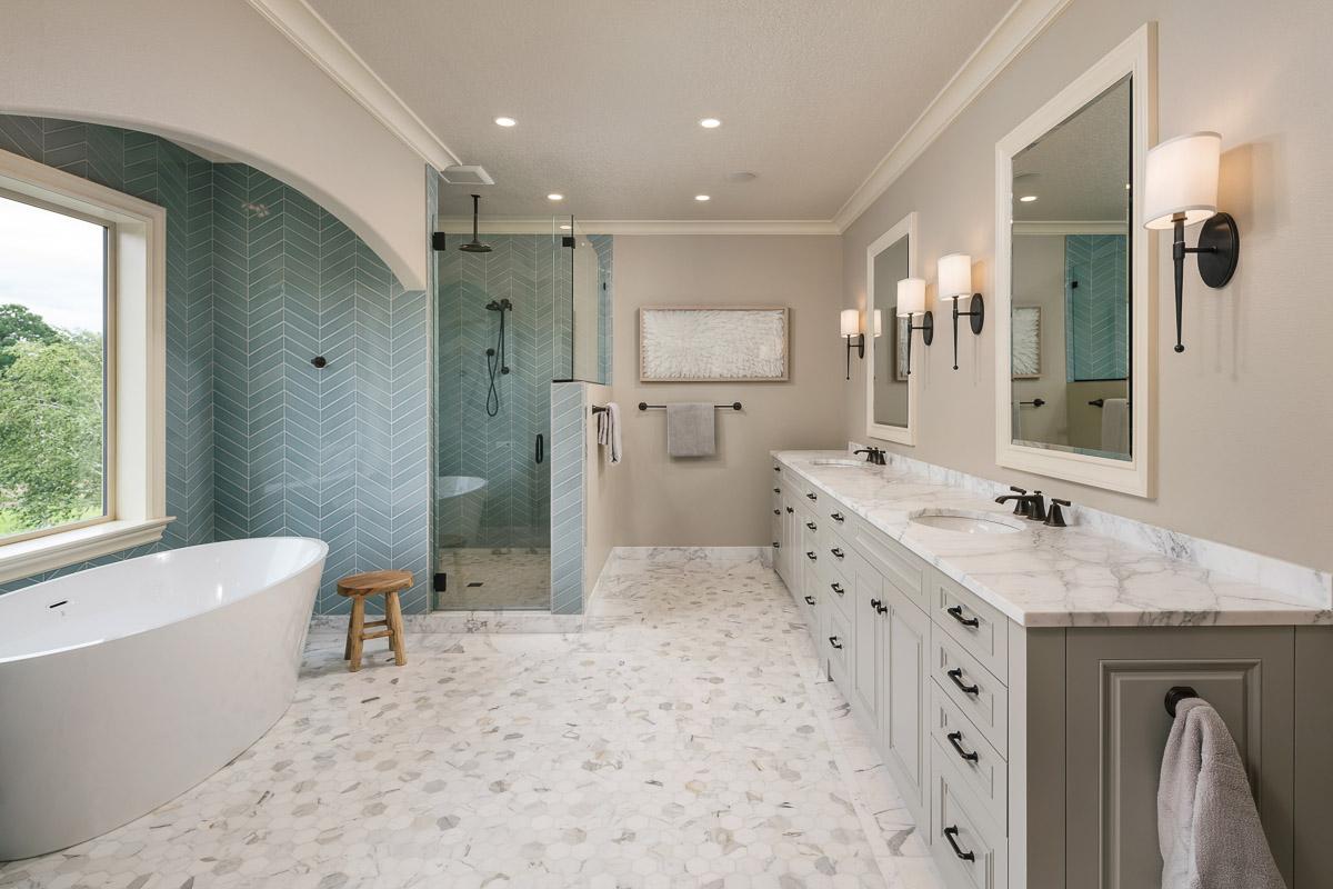 An Unforgettable Luxury Master Bathroom, Master Bathroom Images
